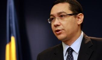 Ponta: össze kell fogni a magyar képviselő ellen a szatmári időközi választáson