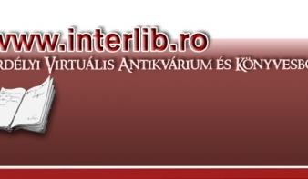 Az Erdélyi Virtuális Antikvárium és Könyvesbolt e heti hírleveléből