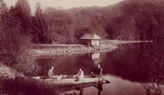 Kirándulás a Bódi-tóhoz a múlt század elején