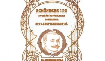SCHÖNHERR 150 - Vetélkedő, konferencia, táblaavatás Schönherr Gyula emlékére