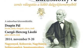 Arany János daloskönyve Nagybányán