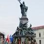 Hinnünk kell a jövőben, és harcolnunk érte – 125 éves az aradi Szabadság-szobor