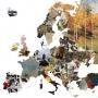 Gyönyörű térkép készült Európa országainak leghíresebb festményeivel