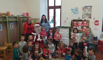 A Mikulás ellátogatott a nagybányai magyar óvodacsoportokba