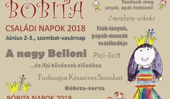 Bóbita Családi Napok - PROGRAM