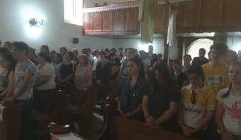 Kezdetét vette Szamosardón a református egyházmegyei ifjúsági tábor