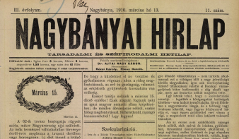 Hogyan ünnepelte március 15-ét Nagybánya magyarsága 110 évvel ezelőtt