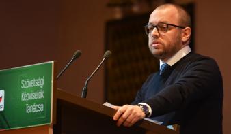Lemondott Porcsalmi Bálint, az RMDSZ ügyvezető elnöke