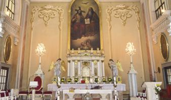 Idősek napja a Szentháromság-templomban