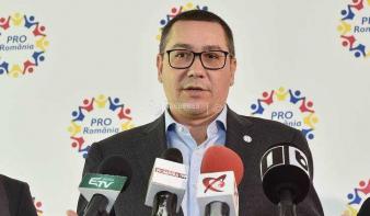 V. Ponta: Viorica Dăncilă lesz a PSD államfőjelöltje