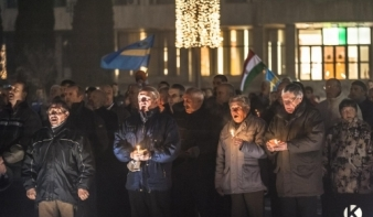 Sok százan énekelték a nemzeti imát Székelyföldön