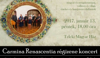 Carmina Renascentia régizene koncert