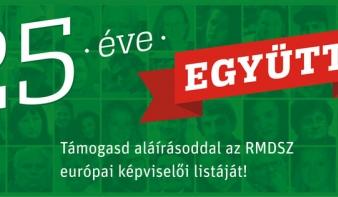 Aláírásgyűjtés az EP választásokra