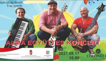 Alma együttes koncertje Nagybányán