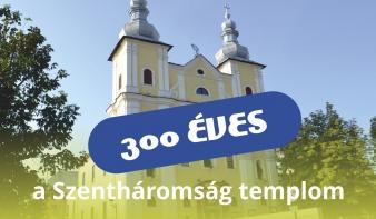 FF2018: 300 éves a nagybányai Szentháromság templom