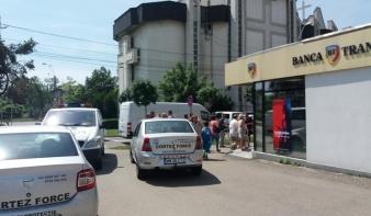 Fegyveres rablás történt egy nagybányai Tansilvania Banknál