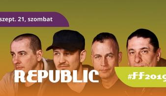 FF2019: Az utolsó előtti nap a Republic együttessel és számtalan programmal várja az érdeklődőket!