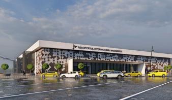 Halad a nagybányai repülőtér új termináljának tervének kivitelezése