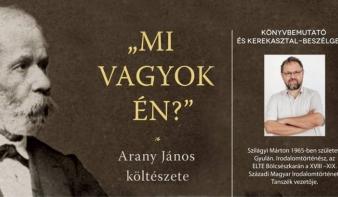 Kolozsváron mutatják be az új Arany János-monográfiát