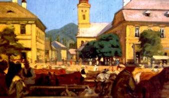 A legédesebb ősi kisváros kellős közepe. A nagybányai piac