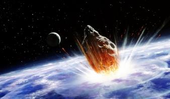 Két évre sötétség borult a Földre egy aszteroidától