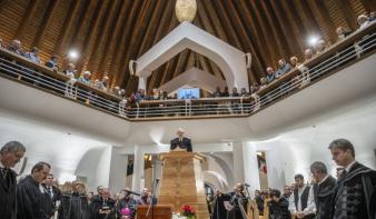 Felavatták Temesváron az Új Ezredév Református Központ templomépületét