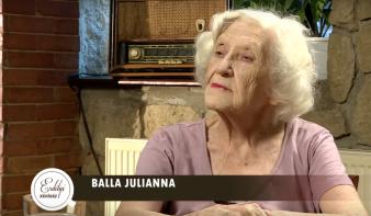 Búcsúztató: Balla Józsefné, született Koszorús Julianna