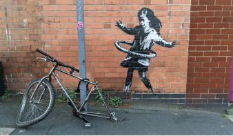 Banksy magára vállalta a nottinghami házfalon feltűnt graffitit
