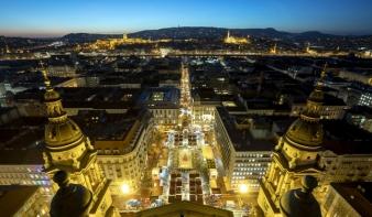 A budapesti Advent Bazilika a második legjobb karácsonyi vásár Európában