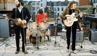 A Beatles utolsó koncertjét egy tetőn adta