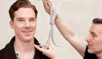 Benedict Cumberbatch a londoni panoptikumban