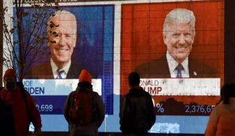 Bejött a papírforma, fogalmunk sincs, ki lesz a következő amerikai elnök