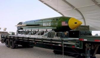 """A """"bombák anyját"""" vetette be az Iszlám Állam ellen az USA"""