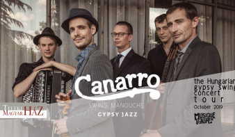 Canarro - the Hungarian Gypsy Swing koncert