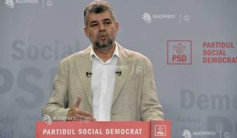 Ciolacu: Augusztus 31-én szavaz a parlament a bizalmatlansági indítványról
