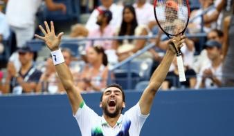 US Open: Cilic felért a csúcsra