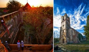 Károly herceg támogatásával mentik a katolikus építészeti örökséget a Bánságban is