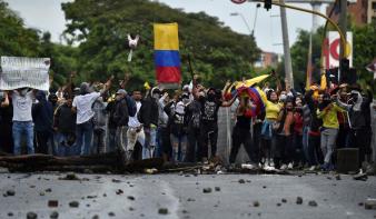 Nyolcvanhét ember eltűnt a kolumbiai tüntetéseken