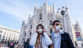 52 halálos áldozata van Olaszországban a koronavírusnak