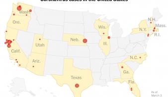 Jelentős koronavírus-járványtól tartanak Amerikában is – keddi összefoglaló