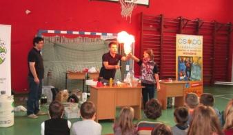 A budapesti varázslók a Nicolae Iorga Általános Iskolában