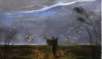 106 év után került elő egy Csontváry-festmény