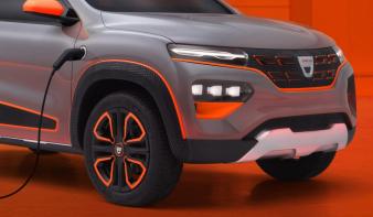 Megvillantotta új, elektromos modelljét a Dacia