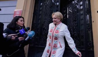 Dăncilă: a románok érdekeit szolgáló kormányprogram megvalósítása a fontos a centenárium évében