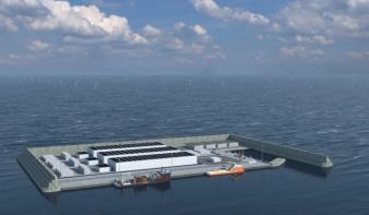 Mesterséges energiaszigetet építenek Dániában