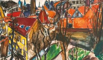 107 évig lappangott az egyik legdrágább magyar festőnő képe