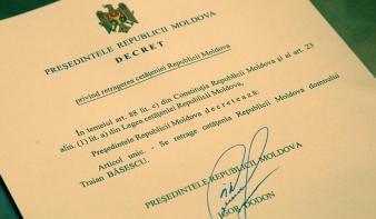 Máris moldovai állampolgárság nélkül maradt Băsescu