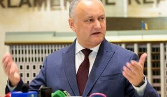 Nemzetközi közvetítést kért Igor Dodon hivatalából felmentett moldovai elnök