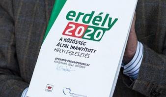 Aktualizálták az Erdély 2020 fejlesztési tervet