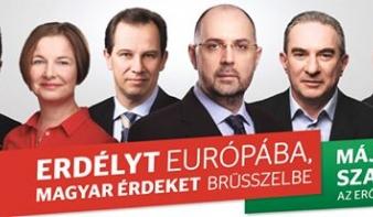 Erdélyt Európába, magyar érdeket Brüsszelbe!